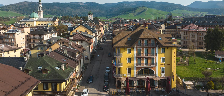 Posizione Centrale Hotel Europa Residence Asiago Vacanze